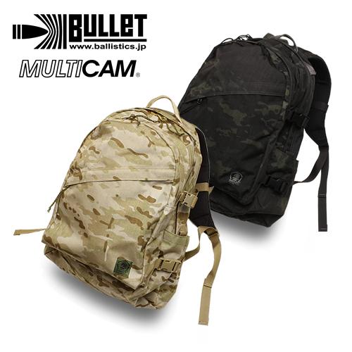 BULLET ユティリティ A-3 / MULTICAM 【バレット】バリスティックス メンズ ミリタリー カジュアル アウトドア マルチカム アライド ブラック バックパック