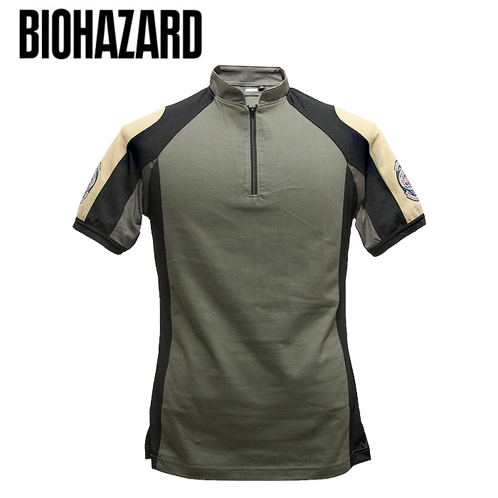 BIOHAZARD5 BSAA tactical T shirt mens military survival game Capcom Chris Redfield