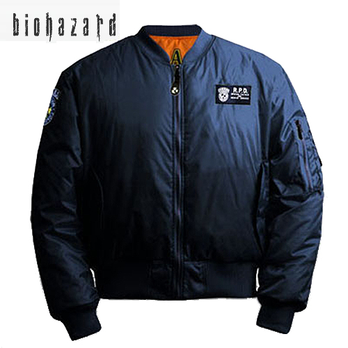 BIOHAZARD S. T. A. R. S. Ma-1 (reserved goods) stars mens military casual outdoor RPD Wesker's Chris Redfield