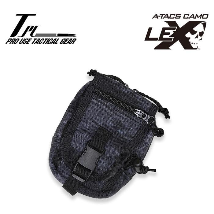 TP ハンディー ポーチ【tactical performance タクティカル・パフォーマンス handy pouch】ミリタリー サバイバルゲーム サバゲ コーデュラナイロン a-tacs le-x