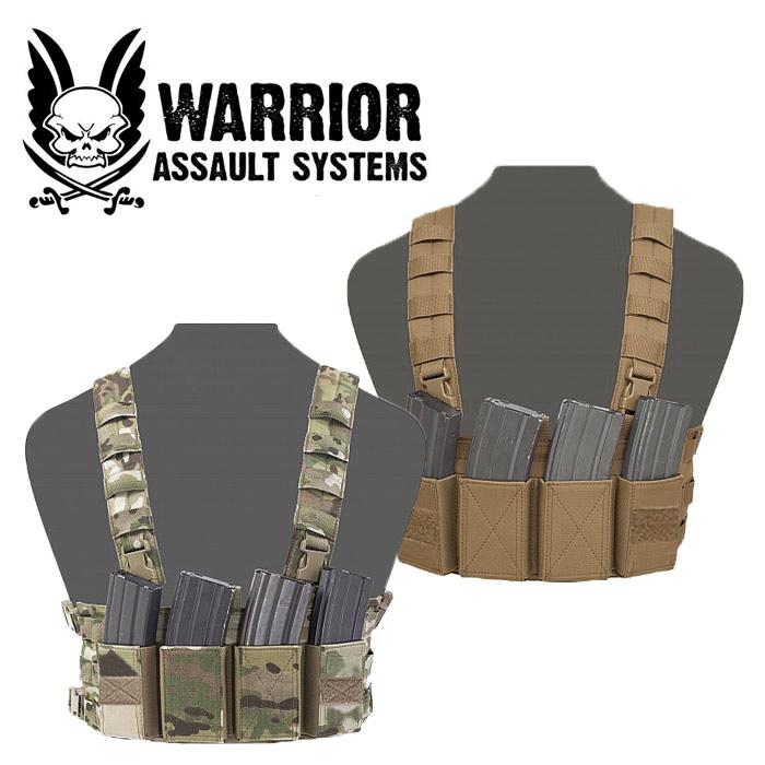 Warrior Assault Systems ロープロファイル チェストリグ【ウォーリアーアサルトシステム low profile chest rig】ミリタリー サバイバルゲーム サバゲ