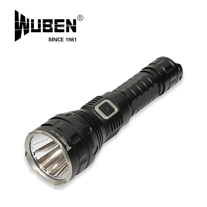 WUBEN T105 PRO フラッシュライト【ウーベン flash light】マウンテンリーコン アウトドア キャンプ 充電池セット 最大1600ルーメン