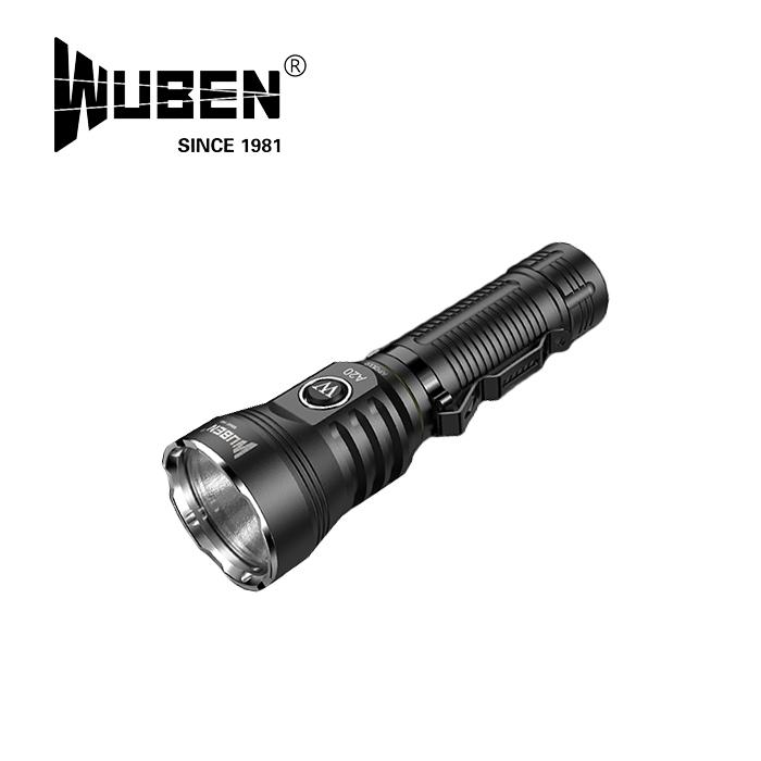 WUBEN A20 フラッシュライト【ウーベン flash light】マウンテンリーコン アウトドア キャンプ 充電池セット 最大4200ルーメン