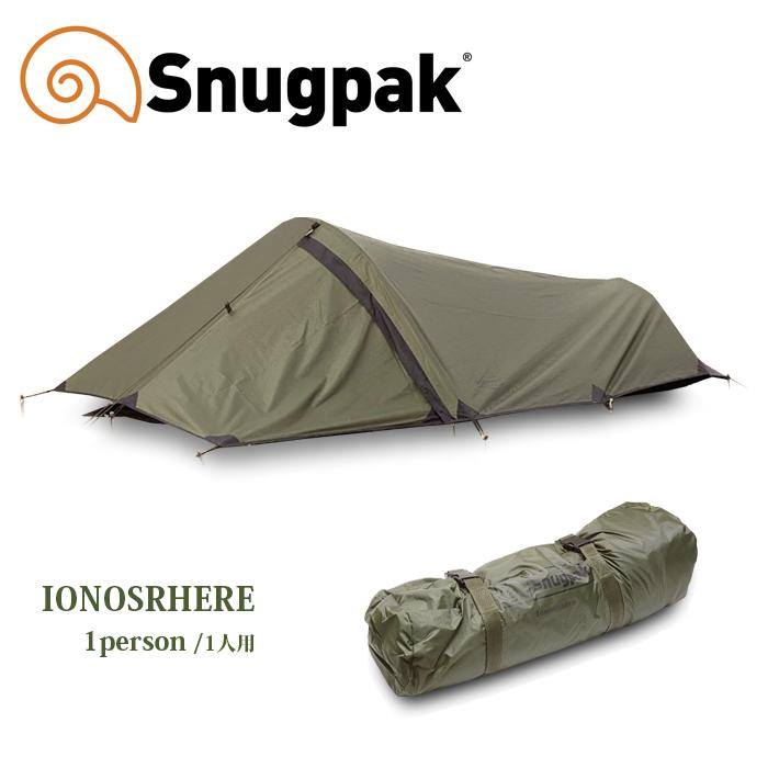 SNUGPAK IONOSPHERE【スナグパック イオノスフィア】メンズ アウトドア キャンプ 登山 ツーリング マウンテンリーコン 一人用テント