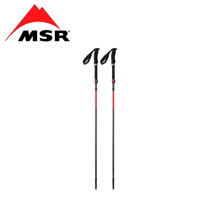MSR ダイナロック アッセント ポール L(ペア)【エムエスアール dynalock™ ascent poles】メンズ アウトドア バックカントリーポール 折り畳み式 軽量 コンパクト