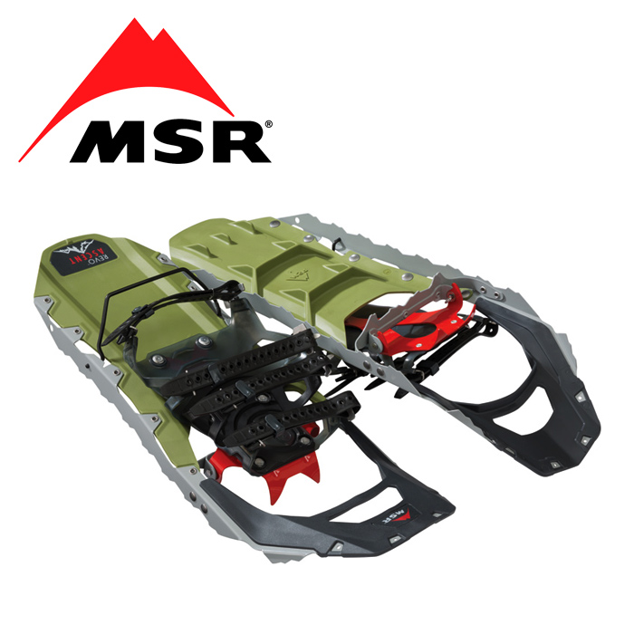 MSR Revo Ascent 22inch【エムエスアール レボ アッセント 22インチ】メンズ ミリタリー アウトドア スノーシュー テレベーター フローテーションテイル スノートレッキング バックカントリー スノーボード