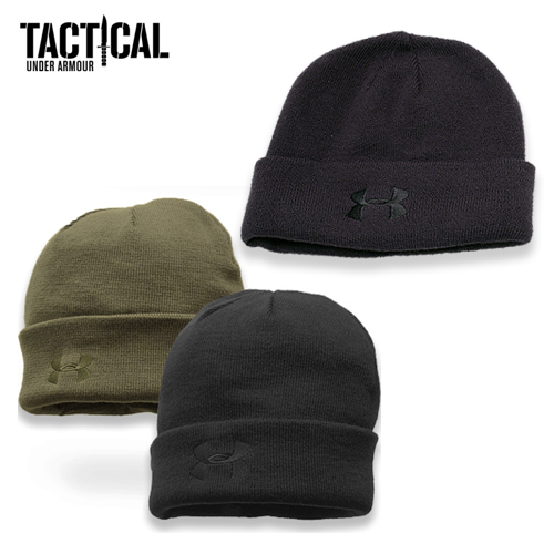 742f4916e2017 UA TACTICAL stealth bomber beanie cap Japanese non-release Special Forces  military use cold gear coldgear acrylic