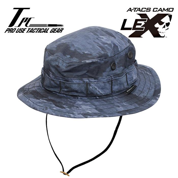 TP ブーニーHAT / A-TACS LE-X【tactical performance タクティカル・パフォーマンス DCS エータックス エルイーエックス】メンズ ミリタリー サバイバルゲーム ブーニーハット ジャングルハット