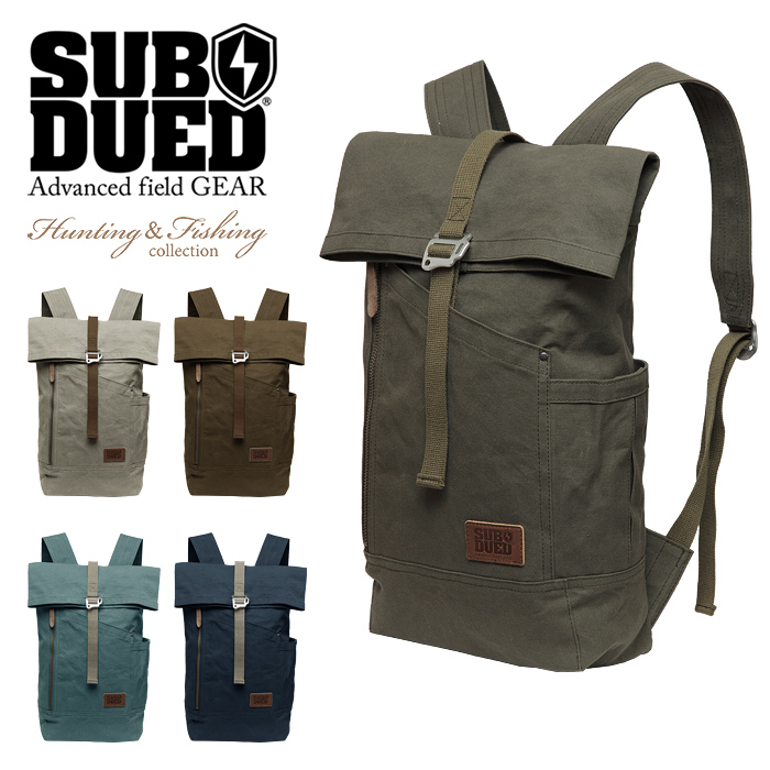 SUBDUED KINGFISHER BACKPACK【サブデュード キングフィッシャーバックパック】ミリタリー アウトドア ブッシュクラフト ハンティング マウンテンリーコン キャンプ 斧 ナイフ 焚火