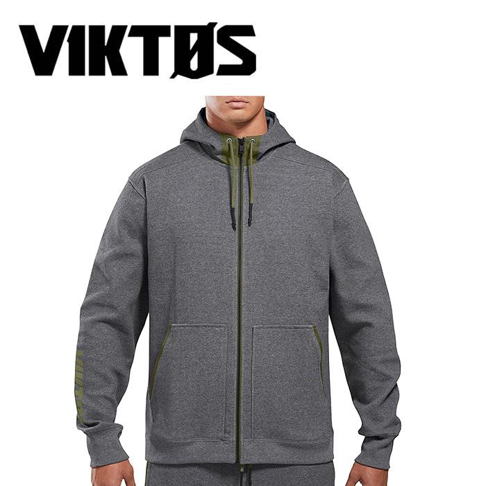 VIKTOS シュビル フーディ【ヴィクトス ビクトス chuville sewat hoodie】メンズ ミリタリー カジュアル スポーツ フルジップパーカ