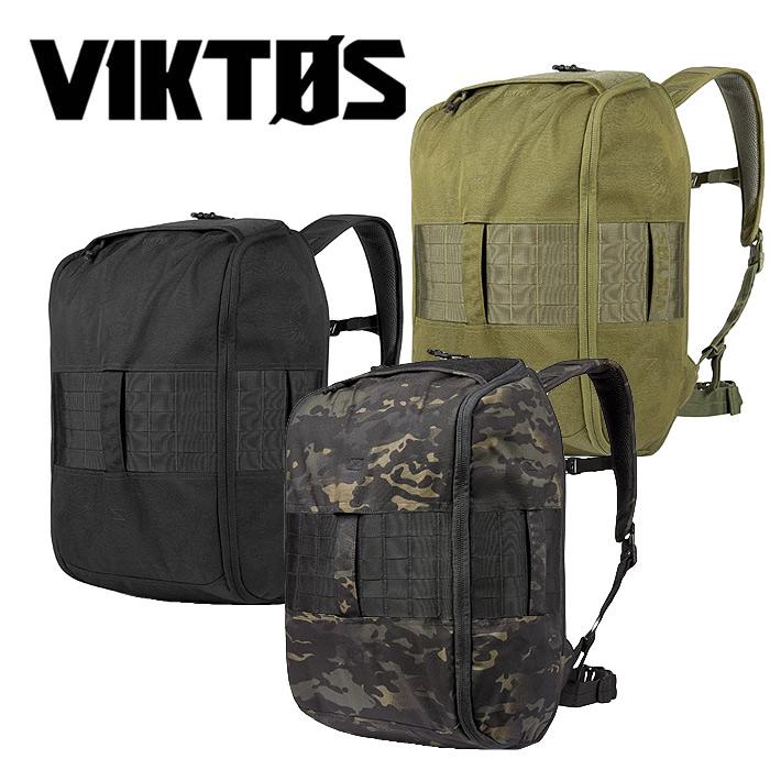 VIKTOS カドレ バックパック【ヴィクトス ビクトス Kadre Backpack】メンズ ミリタリー タクティカル ゴーバッグ GOバッグ 45リッター ベルクロパッチパネル