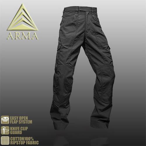 ARMA TACTICAL DIMENSION PANTS【BLACK】【アルマ タクティカル ディメンション パンツ ブラック】メンズ ミリタリー サバイバルゲーム サバゲ アウトドア マウンテン リーコン