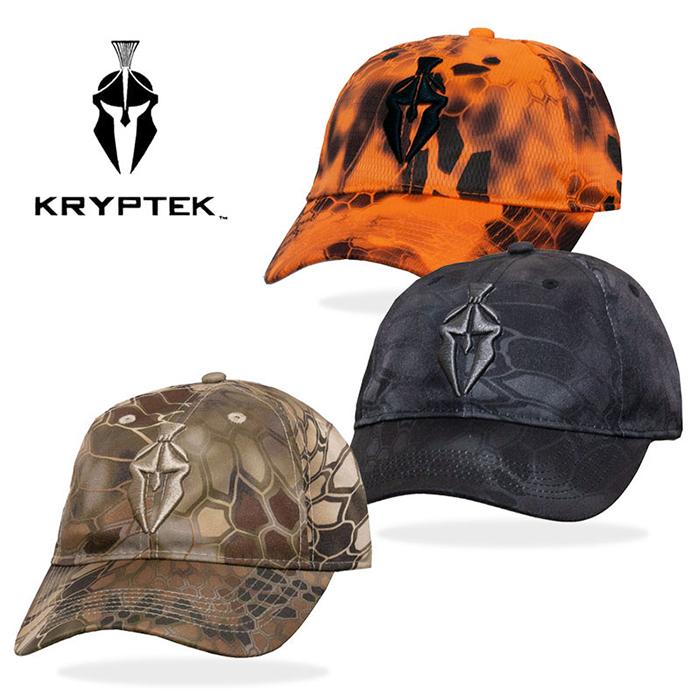 クリプテック KRYPTEK spartan logo curve cap spartan logo cap highlander highlander テュポン typhon inferno inferno duck camouflage 3D embroidery サバイバルゲームサバゲミリタリーメンズレディース hat 3 color