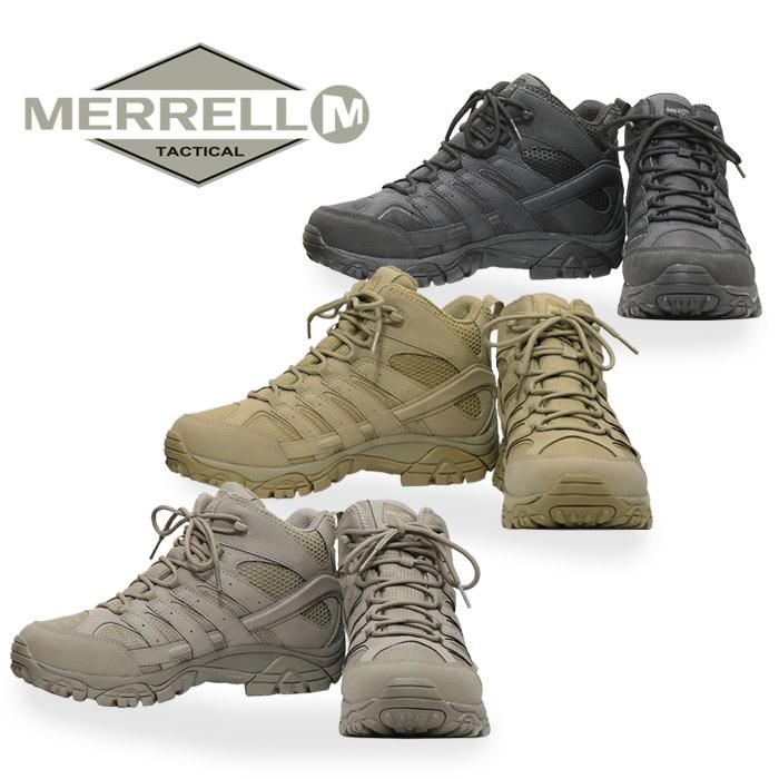 f4718de8abb MERRELL MOAB 2 MID TACTICAL WP men military outdoor vibram vibram sole  trekking shoes non-release in Japan