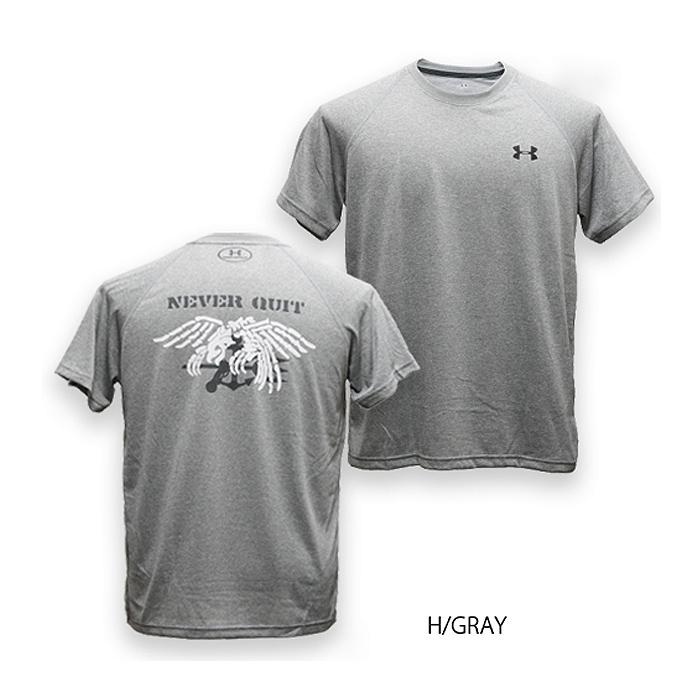 81c930bf1d PHANTOM UA scull trident T-shirt phantom original UNDER ARMOUR under Armour  skull trident men military casual outdoor Navy SEALs NAVY SEAL navy ...