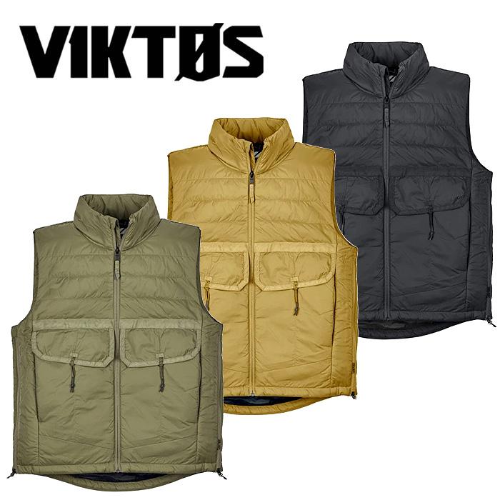 中綿にThermolite®を 時間指定不可 表面にはテフロン加工を施したベスト VIKTOS ゼロダーク ベスト ヴィクトス ビクトス ご注文で当日配送 Zero Dark メンズ ミリタリー Vest Thermolite サーモライト サバゲ カジュアル サバイバルゲーム
