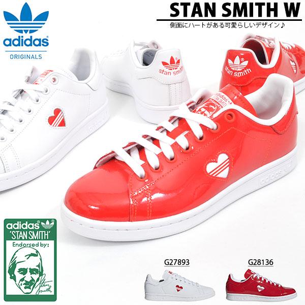 スタンスミス スニーカー アディダス オリジナルス adidas Originals レディース STAN SMITH W ハート カジュアルシューズ ローカットスニーカー シューズ 靴 2019春新作 G27893 G28136