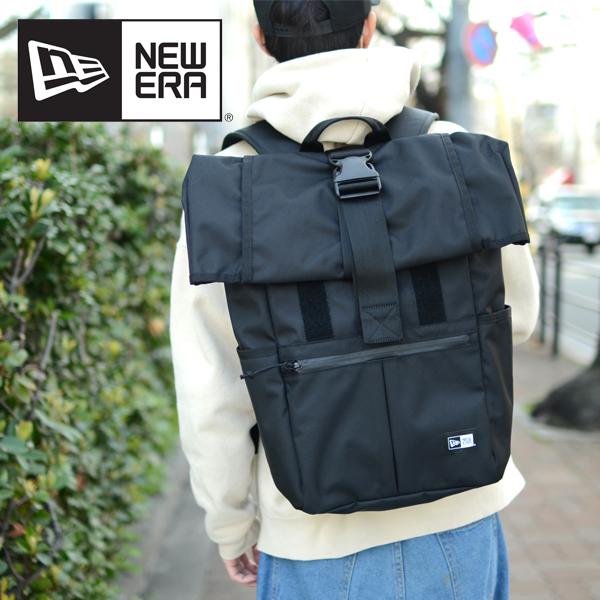送料無料 ニューエラ NEW ERA ROLL TOP PACK ロールトップパク バックパック リュックサック アウトドア ザック デイパック リュック メンズ レディース カバン 鞄 かばん バッグ BAG 26L