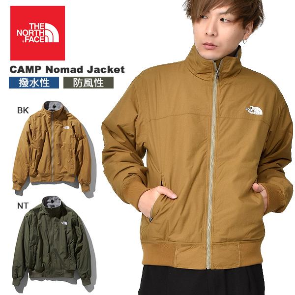 送料無料 裏フリース ナイロン ジャケット ザ・ノースフェイス THE NORTH FACE メンズ CAMP Nomad Jacket キャンプノマドジャケット アウトドア 撥水 ウインド np71932