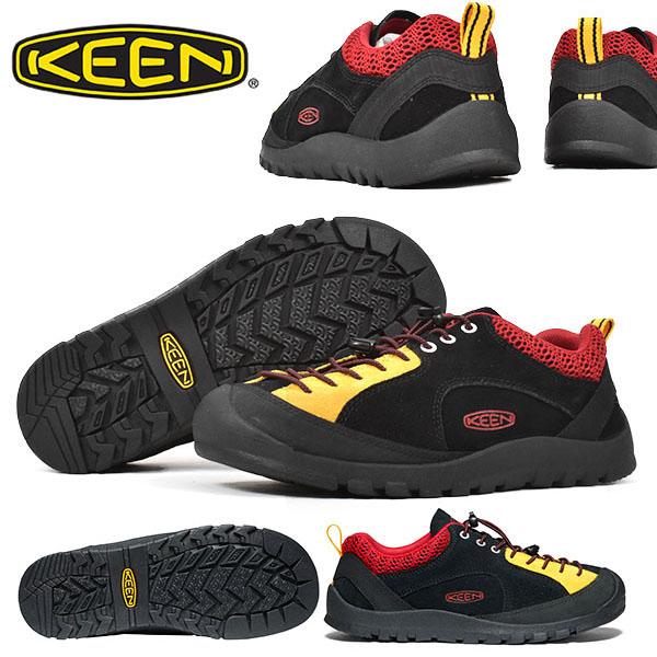 送料無料 アウトドア シューズ KEEN キーン メンズ ジャスパー ロックス JASPER ROCKS SP 1023017 替え紐つき 2020春夏新作 Black/Stone ブラック クライミング ハイキング スニーカー 靴 アウトドアスニーカー