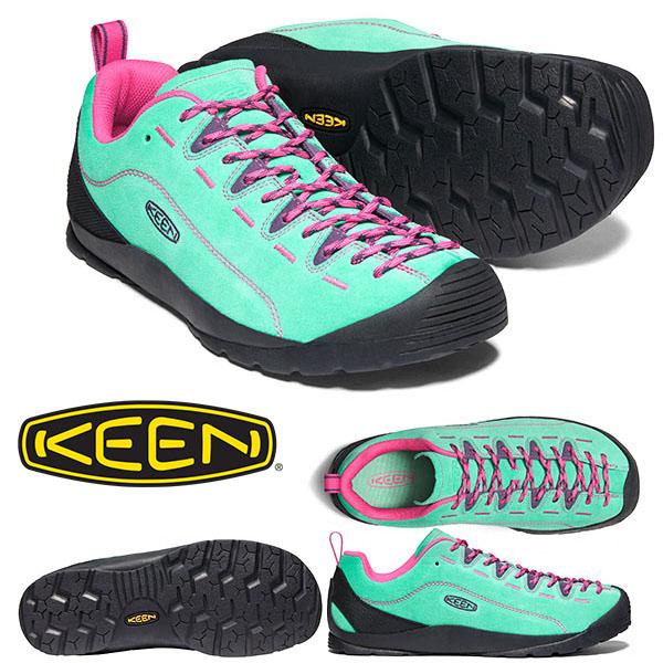 送料無料 スニーカー KEEN キーン メンズ JASPER ジャスパー 替え紐つき クライミング アウトドア ハイキング フェス シューズ 靴 2020春夏新作 Dusty Jade Green 1022641 ジェイド グリーン