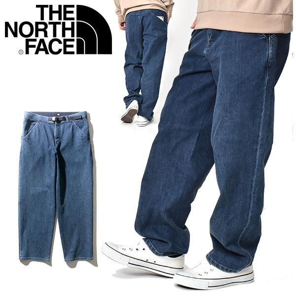 クライミング デニムパンツ THE NORTH FACE ザ・ノースフェイス メンズ DENIM CLIMBING BAGGY PANT デニム クライミング バギー パンツ ストレッチ nb32004 ジーンズ 2020春夏新作