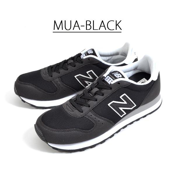 スニーカーニューバランスnewbalanceML311メンズレディースカジュアルシューズ靴ブラックグレー2019秋新色