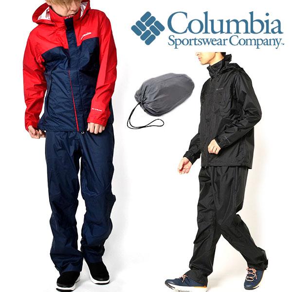 上下セット レインウェア コロンビア Columbia メンズ Simpson Sanctuary 2 Rainsuit レインスーツ 上下 セットアップ カッパ 雨具 登山 トレッキング ハイキング アウトドア キャンプ PM0126 2020春夏新作 得割10 【あす楽対応】