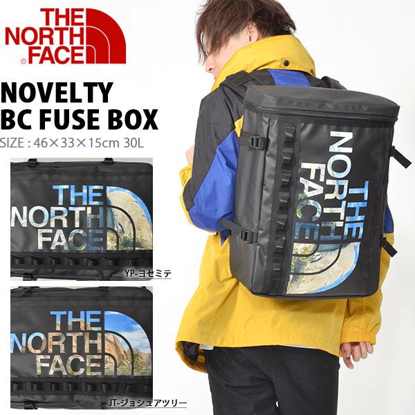 送料無料 ザ・ノースフェイス THE NORTH FACE ベースキャンプ ノベルティー ヒューズボックス Novelty BC FUSE BOX 30L 2019春夏新作 nm81939 ヨセミテ ジョシュアツリー ザック バックパック かばん スクエア型 メンズ レディース バッグ BAG