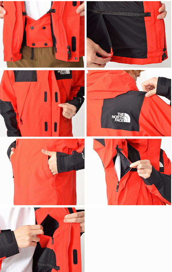現品限り 一人一着  GORE-TEX マウンテン ジャケット THE NORTH FACE ザ・ノースフェイス Mountain Jacket ゴアテックス メンズ np61800 アウトドア 撥水 シェル マウンテンパーカー