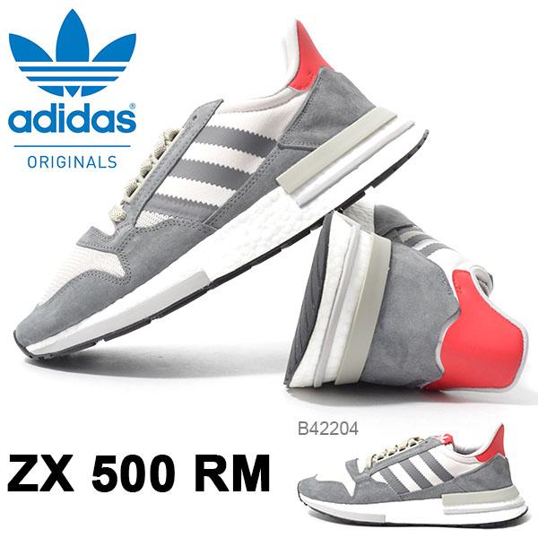 送料無料 スニーカー adidas Originals アディダス オリジナルス メンズ ZX 500 RM 軽量 ZXシリーズ ローカットスニーカー カジュアルシューズ シューズ 靴 B42204