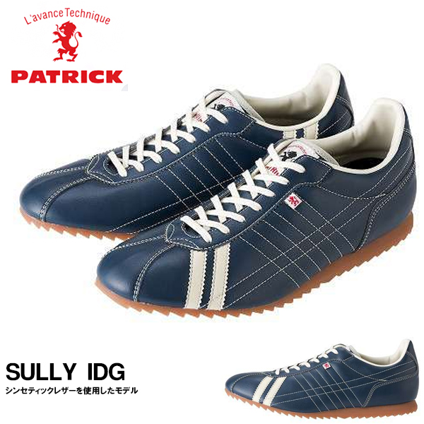 送料無料 スニーカー パトリック PATRICK メンズ レディース SULLY IDG シュリー インディゴ シューズ 靴 日本製 ローカットスニーカー