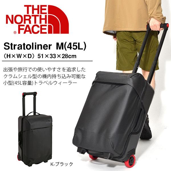 M#* NM81819 ザ・ノースフェイスストラトライナーM THE NORTH FACE STRATOLINER キャリーバック 18年モデル ビジネスバッグ