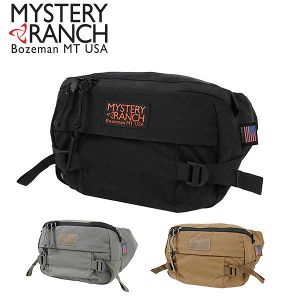MADE IN USA 送料無料 ウエスト バッグ ミステリーランチ MYSTERY RANCH ヒップモンキー HIP MONKEY 8L ボディバッグ ヒップバッグ ウエストポーチ カバン 鞄 ミリタリー アメリカ製 正規代理店