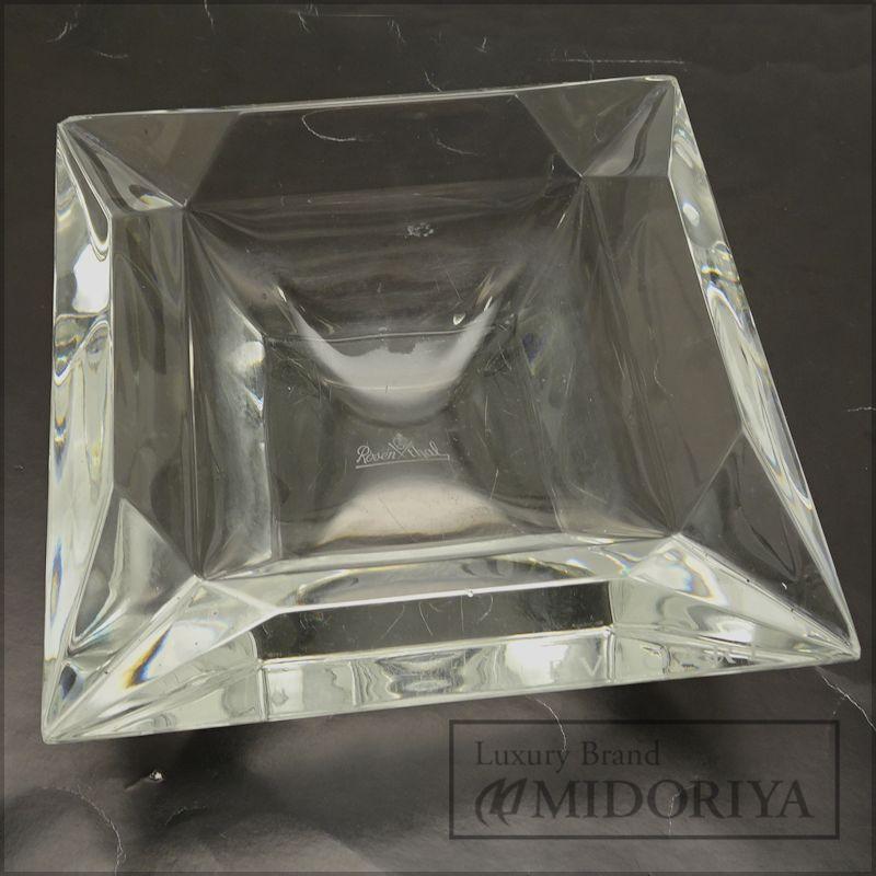 【緊急!大幅値下げ】ブルガリ BVLGARI 灰皿 アッシュトレイ エキセントリカ ローゼンタール /040217【中古】