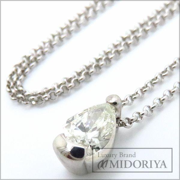 【緊急!大幅値下げ】田崎真珠 TASAKI ダイヤモンドネックレス ダイヤモンド Pt850 プラチナ ペンダント/096170【中古】【クリーニング済】