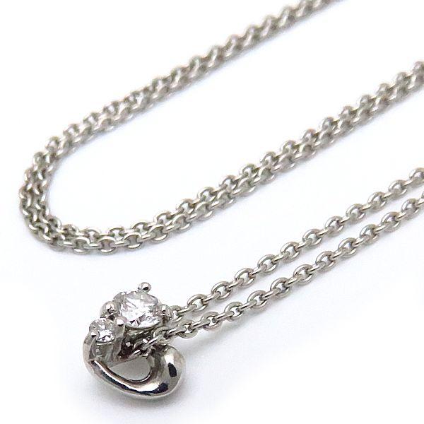 【緊急!大幅値下げ】スタージュエリー STAR JEWELRY ネックレス ダイヤモンド Pt950 プラチナ ペンダント/096855【中古】【クリーニング済】