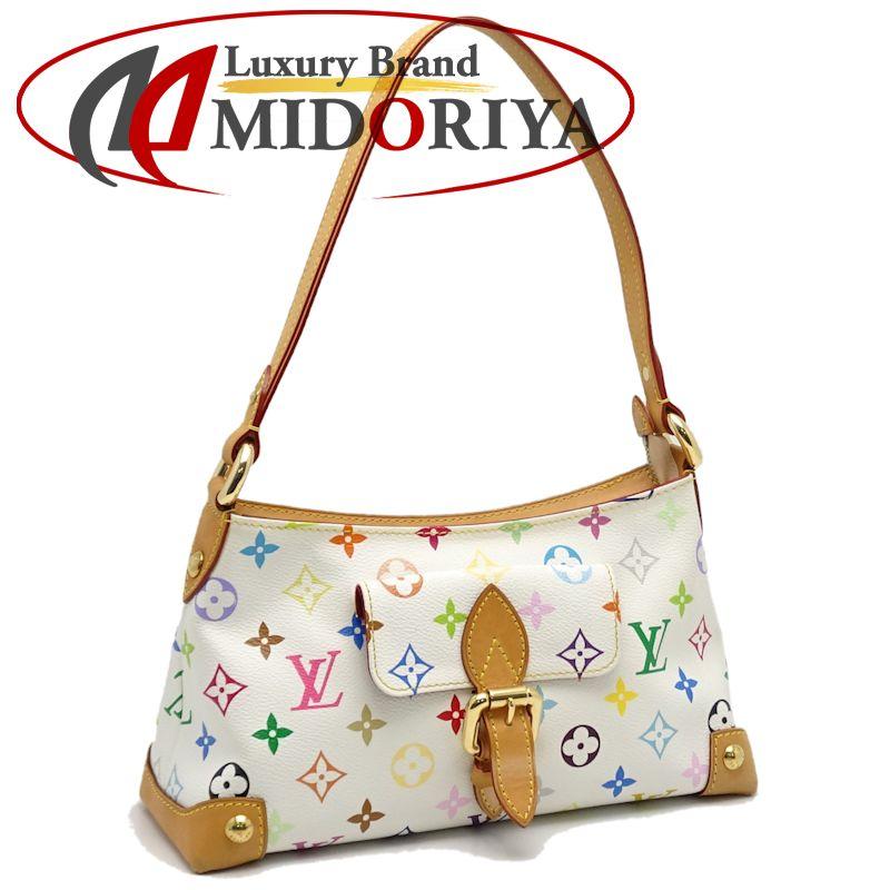 Authentic LOUIS VUITTON Multicolor Eliza Handbag M40098 Blanc  050498 FREE  SHIP 735efdbf24