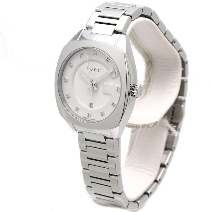 b84d3cc5405 Gucci GUCCI GG2570 collection 10P diamond Small 29mm YA142504 142.5 Lady s   35070 watch