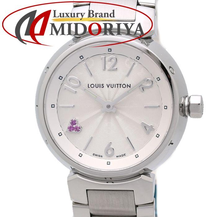 ルイヴィトン LOUIS VUITTON タンブール ハートローズポップ クォーツ Q1218 レディース /35105 【中古】 腕時計