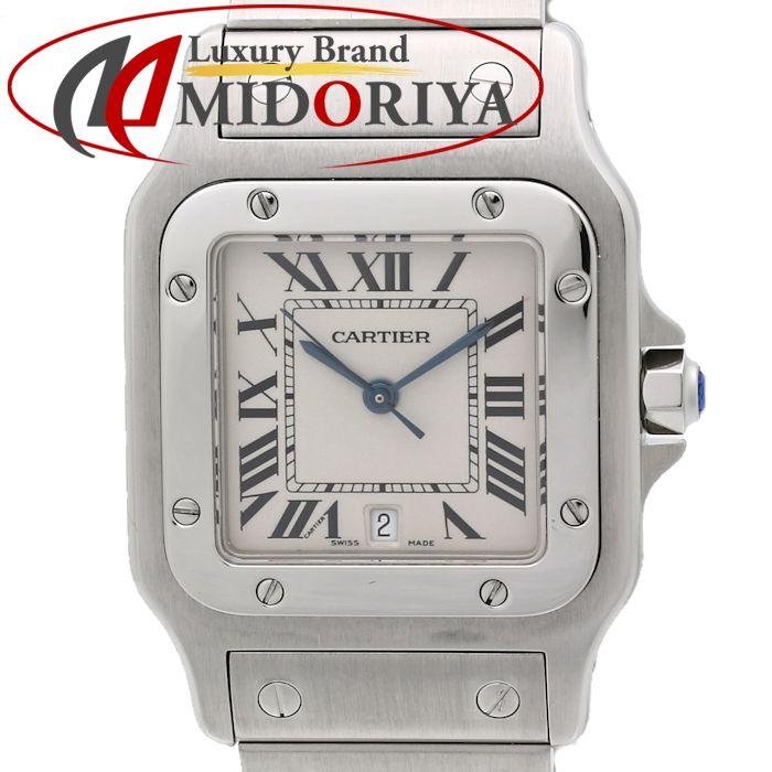 【最大3万円OFF&3倍】カルティエ Cartier サントスガルベ LM W20060D6 メンズ クォーツ /35106 【中古】 腕時計