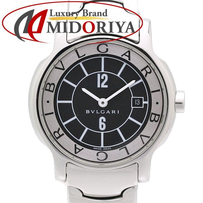 【最大5千円OFFクーポン】ブルガリ BVLGARI ソロテンポ ST29S クォーツ レディース /35147 【中古】 腕時計