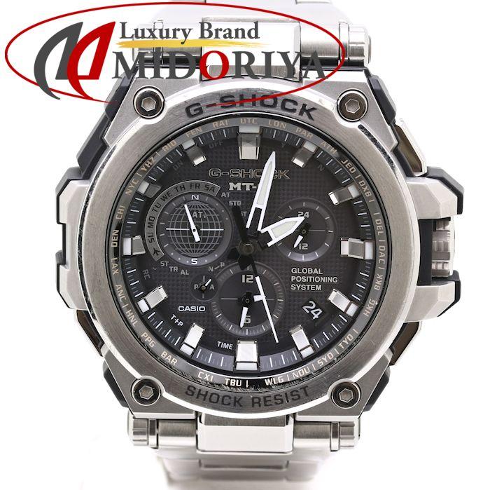 【ポイント3倍!】カシオ CASIO G-SHOCK ジーショック MT-G GPSハイブリッド電波ソーラー MTG-G1000 メンズ /35188 【中古】 腕時計