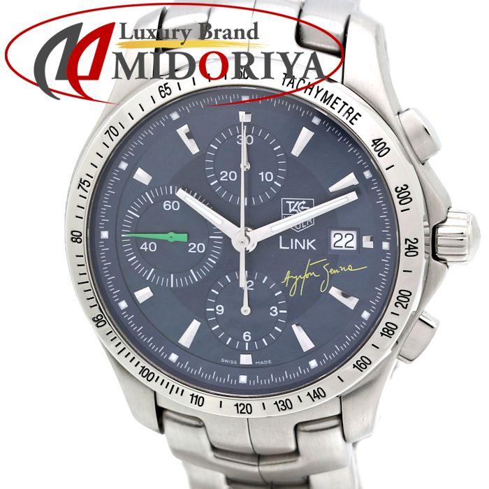 【最大3万円OFF&3倍】タグホイヤー TAG HEUER リンク タキメータークロノ CJF2113.BA0576 アイルトン・セナ限定モデル メンズ /35208 【中古】 腕時計