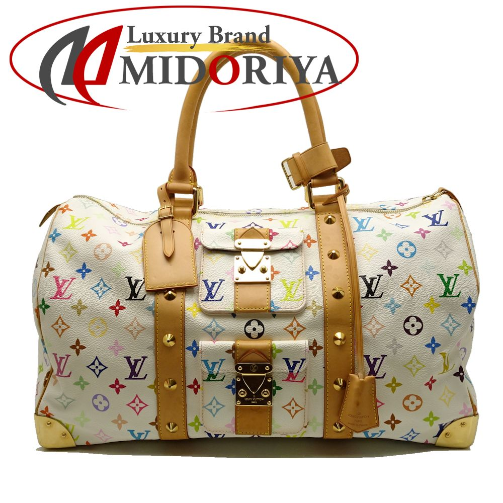 ba8c21fb4f72 Louis Vuitton LOUIS VUITTON M92641 multicolored key Poll 45 Bronn Boston bag  /051770 ...
