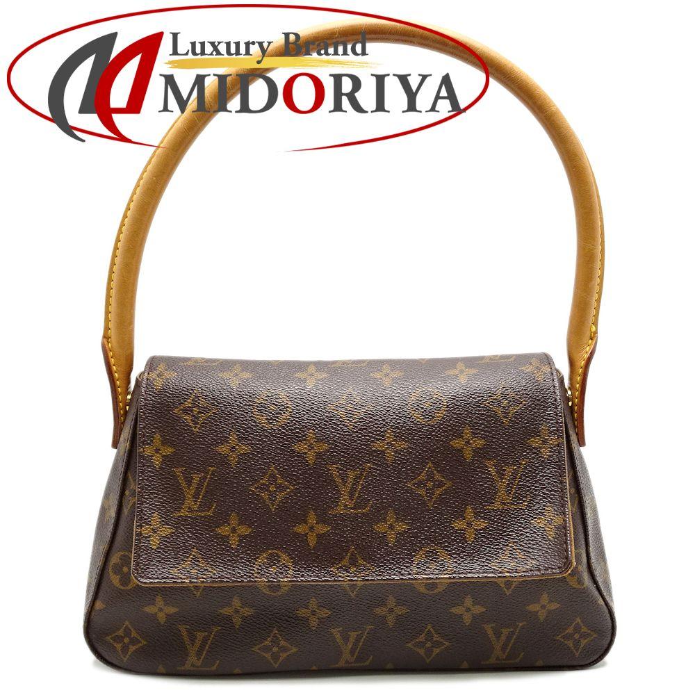 31cc66f74f64 Louis Vuitton LOUIS VUITTON M51147 monogram mini-looping shoulder bag brown   050994