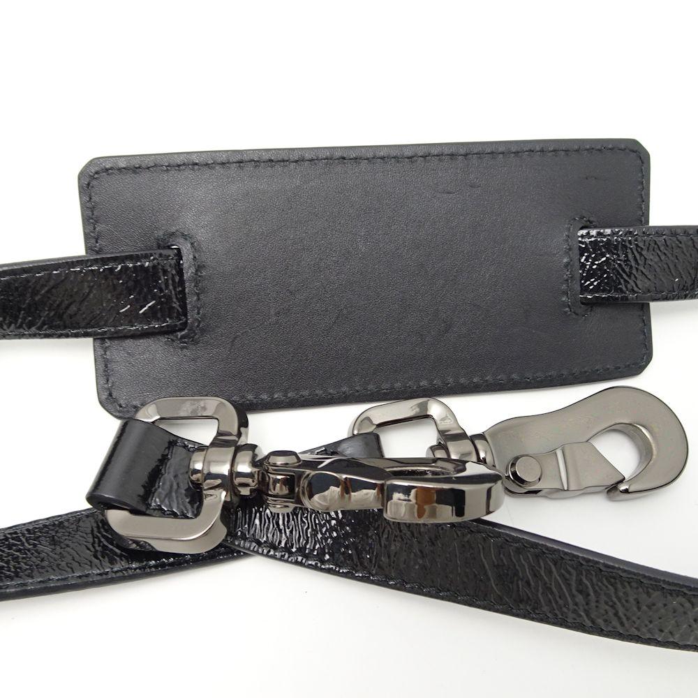 バーバリー プローサム BURBERRY PRORSUM 2WAY ハンドバッグ 黒×白×チェック柄 051221BQCxroWde