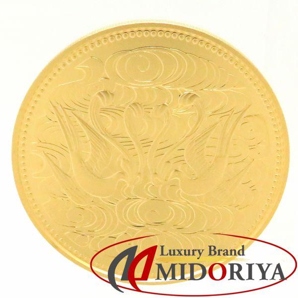 金貨 天皇御在位60年記念硬貨 K24 ゴールド 10万円 20グラム コレクターズアイテム/78272【中古】