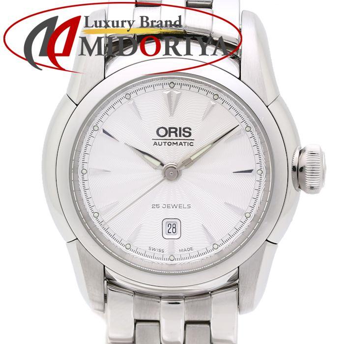 【最大3万円OFF&3倍】オリス ORIS アートリエ 7548 レディース 自動巻き /35260 【中古】 腕時計
