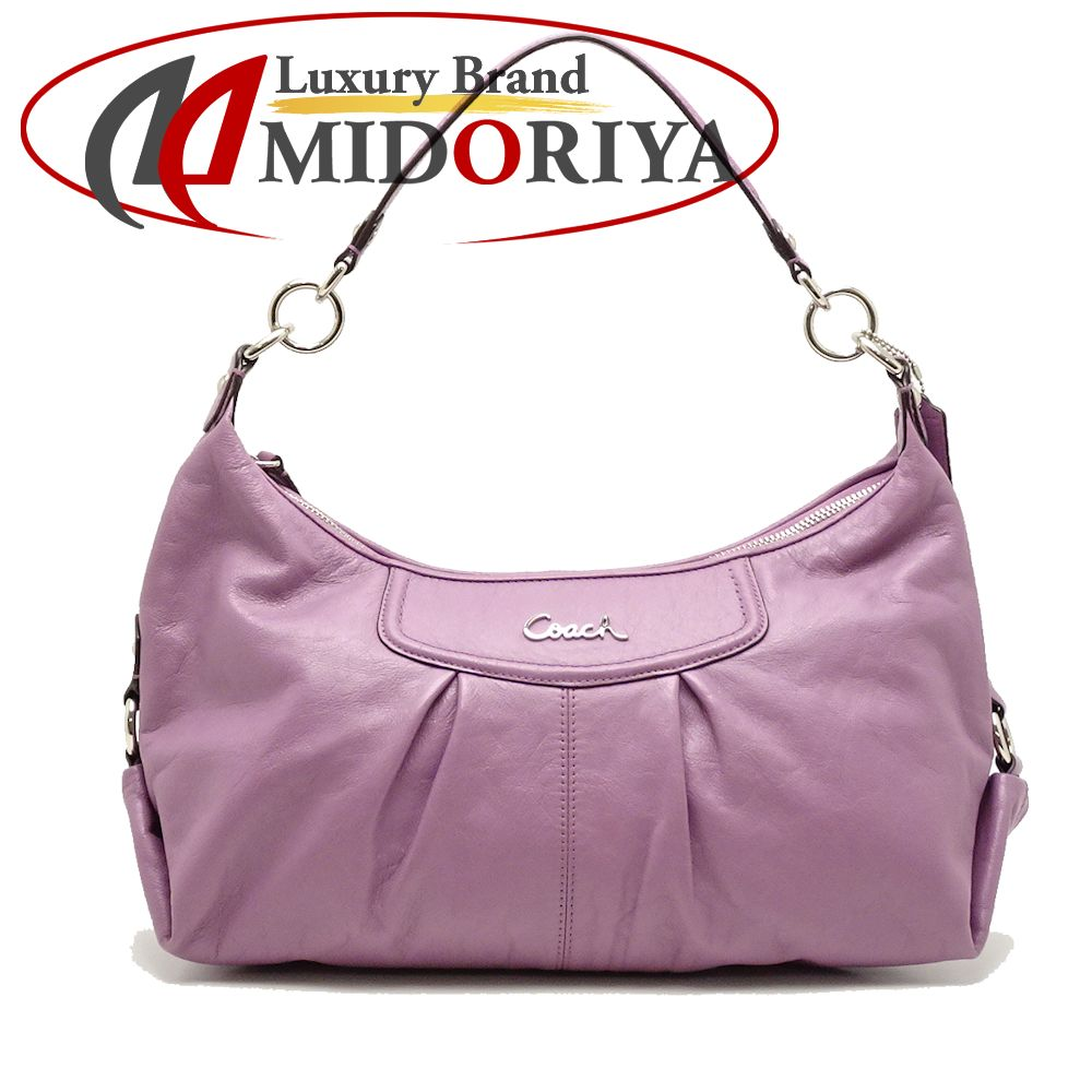 36d2291e4691 Coach COACH F19761 shoulder bag Ashley leather convertible Ho baud purple  outlet  051244